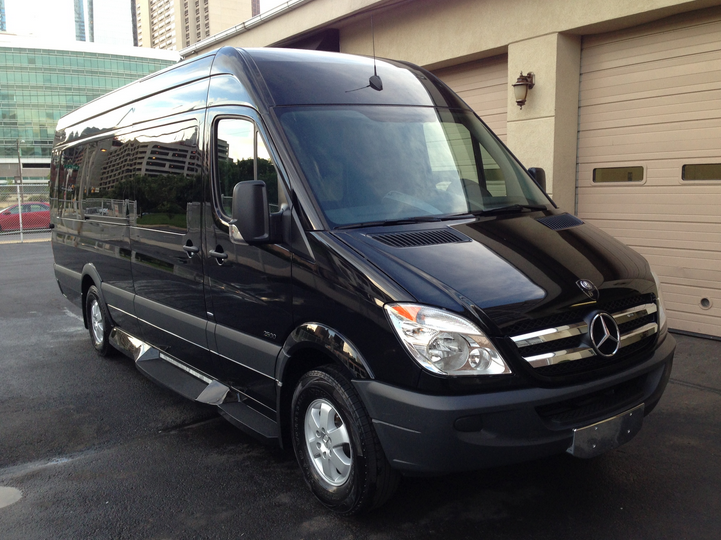 Van sprinter 12 pax luxury properties for Mercedes benz freehold nj